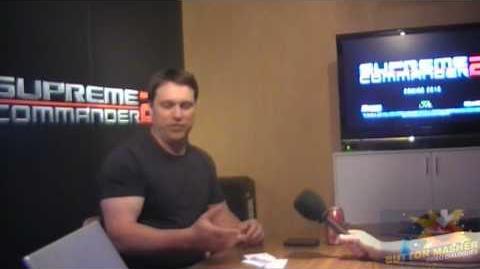 E3 2009 Supreme Commander 2 Demo and Interview