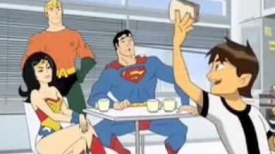 Ben 10 and the Super Friends