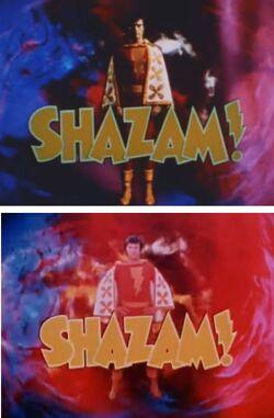 Shazam Title Cards