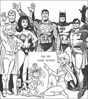 Wonder Twins early concept art