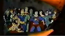 JLA Super Powers commercial