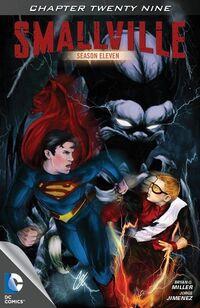 Smallville S11 110 Digital Cover