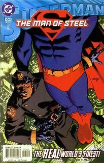 Superman Man of Steel 129