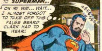 Superman's beard