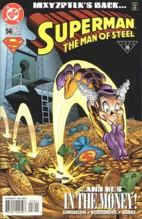 Superman Man of Steel 56