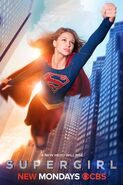 Supergirl poster-cbs
