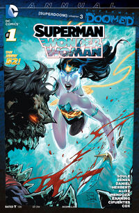 Superman-Wonder Woman Annual 01