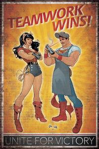 Superman-Wonder Woman 20 variant