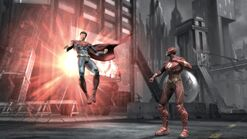 Injustice superman flash
