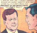 Superman's relationship with the US President