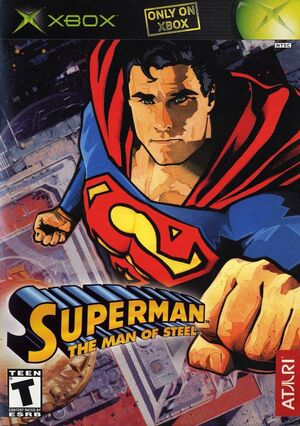 Man of Steel Box Art