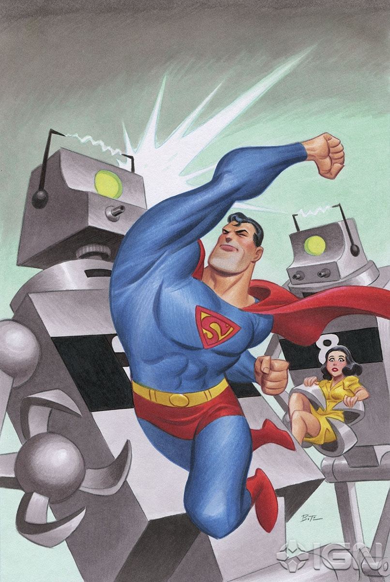 Mechanical Monsters Superman Wiki Fandom Powered By Wikia