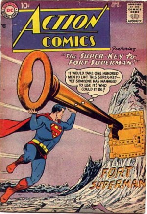 Super key to fort superman