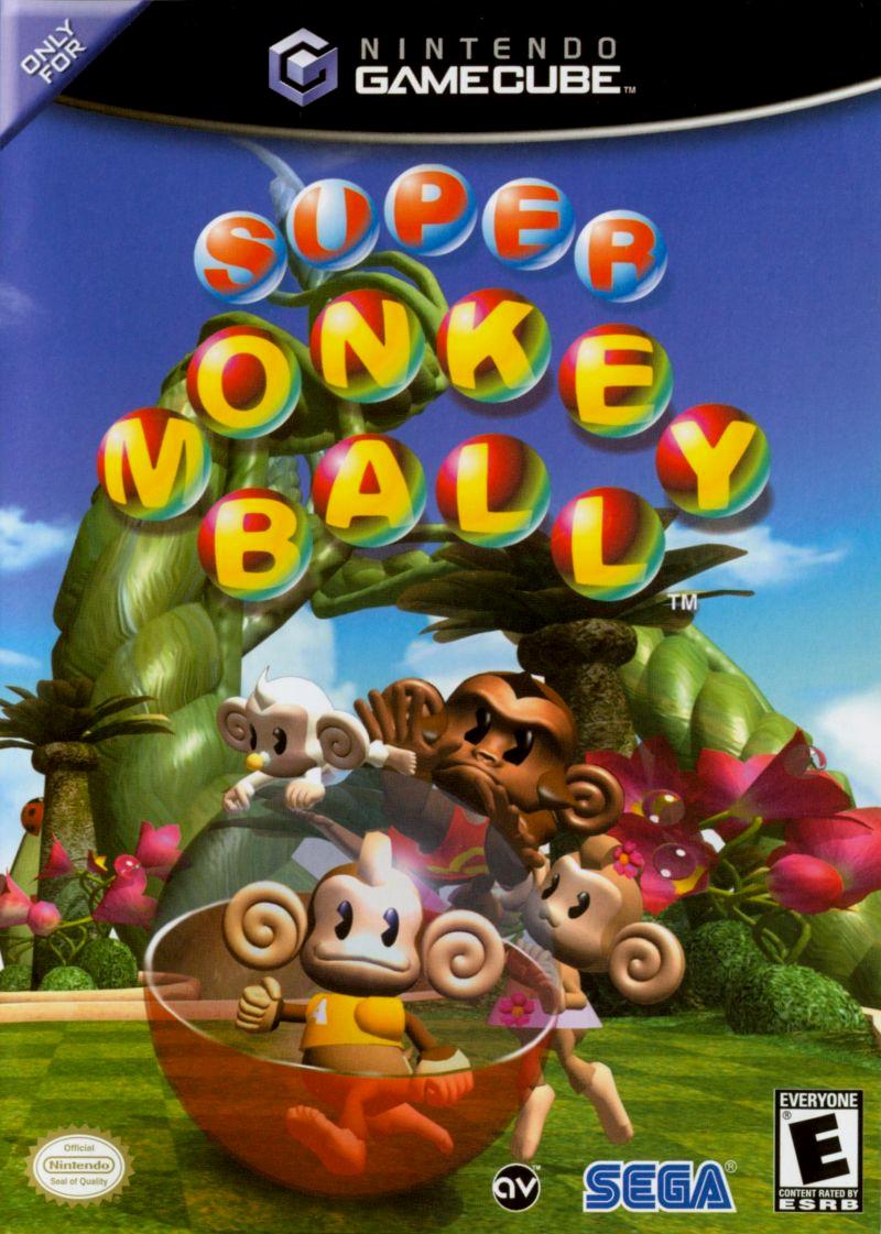 Gamecube Monkey Ball Super Monkey Ball Boxshot