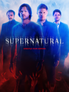 Supernatural Season 10 Poster HD + Text