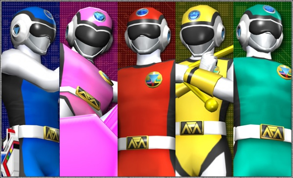 power power ranger games
