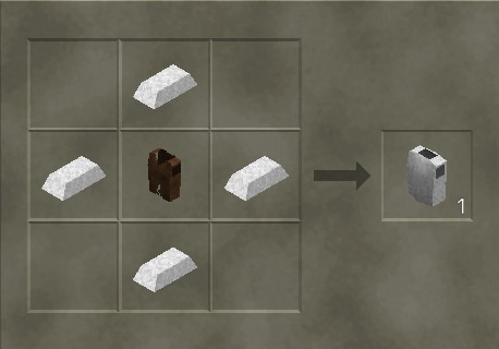 how to make iron chestplate
