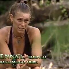 Jenna making a confessional.