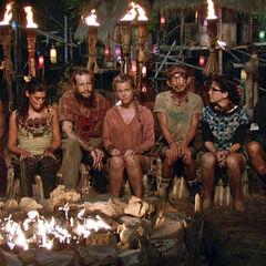 Julia's last Tribal Council.
