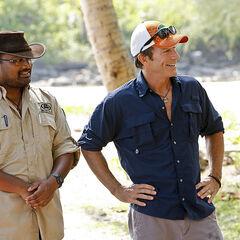 Jeff and Dr. Rupert pay Dara a visit.