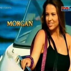 Morgan's first motion shot in the opening