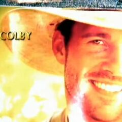 Colby's first photo in the opening.