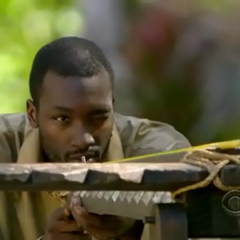 Jaison takes aim at the Immunity Challenge