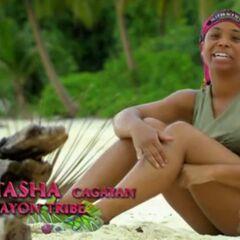 Tasha making an confessional.