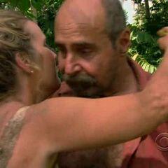 Betsy hugging <a href=