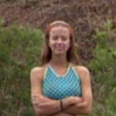 Amber at the first individual Immunity Challenge.