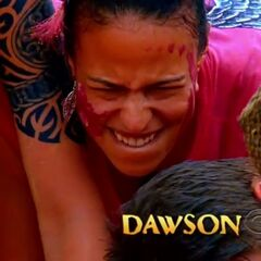 Dawson's second motion shot in the opening.