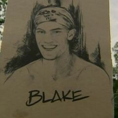 Blake's drawing at the <a href=