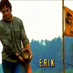 Erik's first motion shot in the opening.