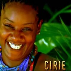Cirie's motion shot in the opening.
