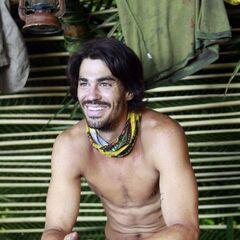 Keith as a member of Te Tuna.