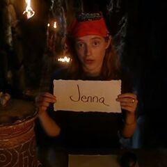 Christy's last vote against Jenna.