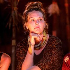 Kat at her last Tribal Council.