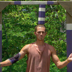 Joe competing in his last challenge<i><a href=