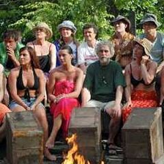 The Veterans at the first Tribal Council