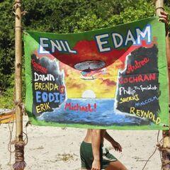 Enil Edam's flag.