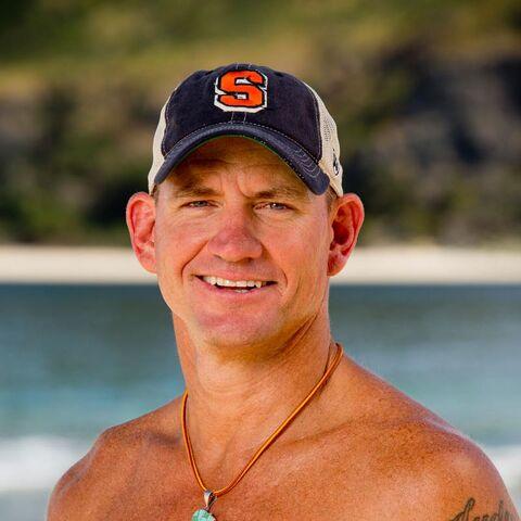 Brad's Alternate promotional photo for <i>Survivor: Game Changers</i>.