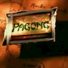 Pagong in the intro.