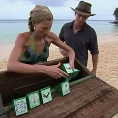 Sally competing for Immunity