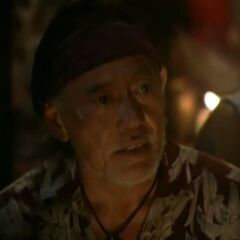Bruce at Tribal Council.