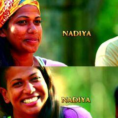 Nadiya shots at the opening.