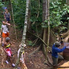 Pagong at the second Immunity Challenge.