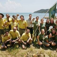 The cast of Expedition Robinson 2002