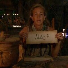 Missy votes against Alec.