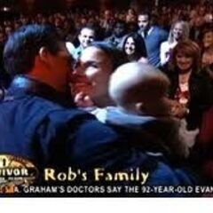 Rob and his family.