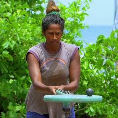 Natalie competing in final eight Immunity Challenge, <i><a href=